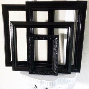 Other - Black Decorative Frames